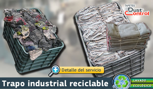 Trapo industrial reciclable