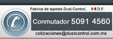 Contacto Tapetes Dust Control